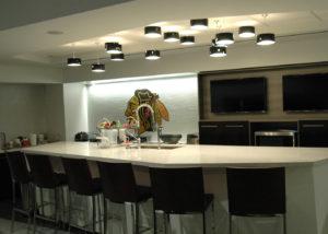 Blackhawks Locker Room Kitchen